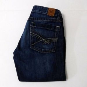 BKE Vintage Low Rise Denim Capri Jeans Size 26